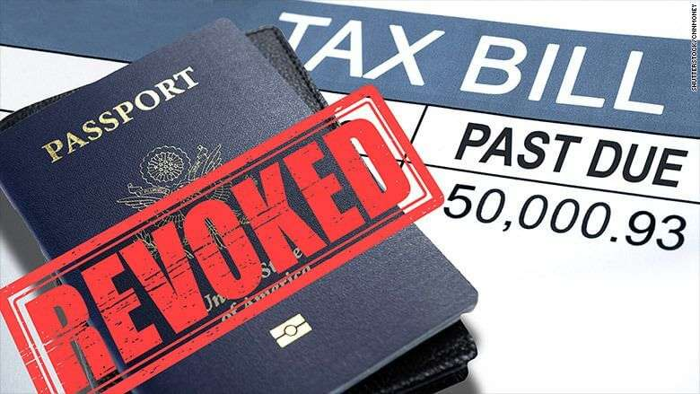 IRS Revoked Passport
