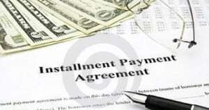 IRS Installment Agreement