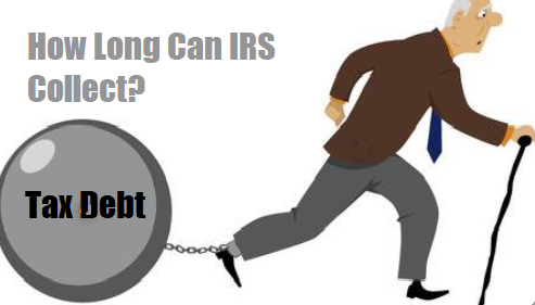 How Long Can IRS Collect Tax Debt