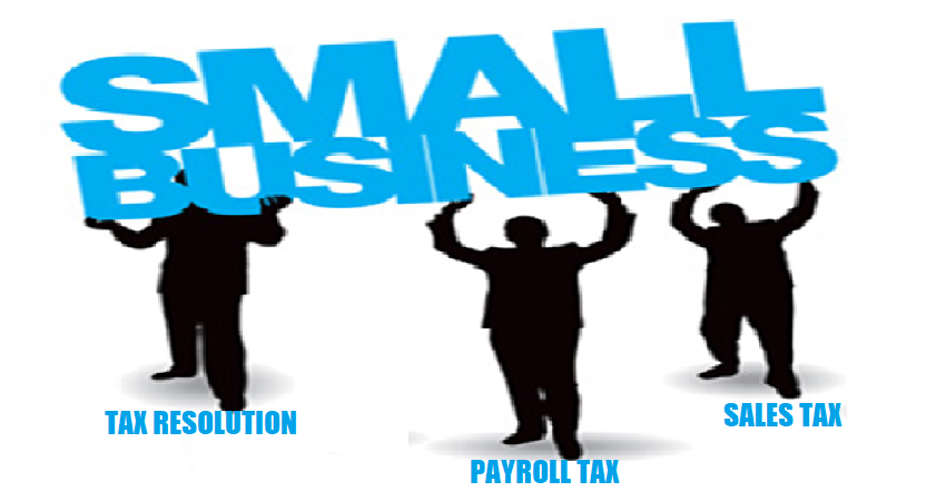 Small business tax resolution services